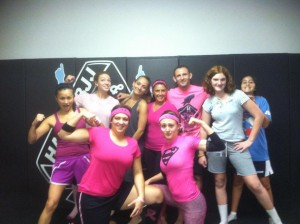 Conshohocken Martial Arts Breast Cancer Support
