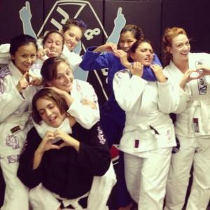 Women only training at Hart Jiu Jitsu (BJJ)
