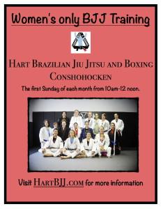 Conshohocken Women's Jiu Jitsu Training.