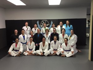 Conshohocken PA Women's Jiu Jitsu open training at Hart's.