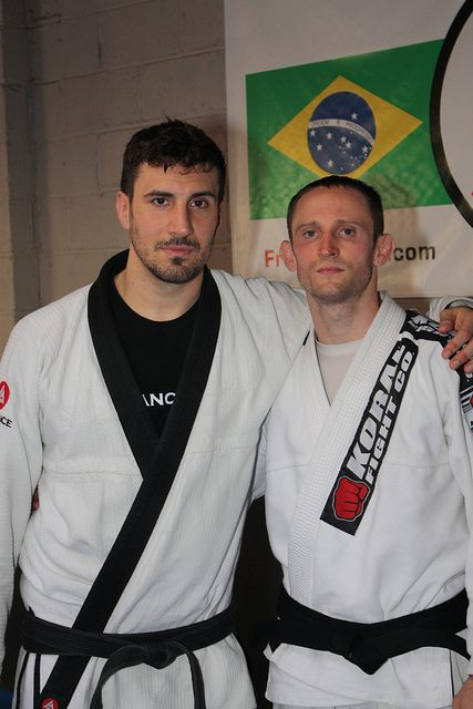 The Beginning: Conshohocken BJJ Tim Hart and Phil Migliarese Balance Studios Center City PA.