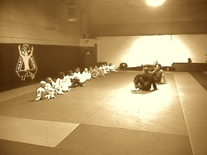 Hart's Kid's Jiu Jitsu training in Conshohocken.