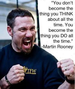 Martin Rooney - Training For Warrior's Founder.