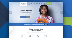 screenshot of growthpress