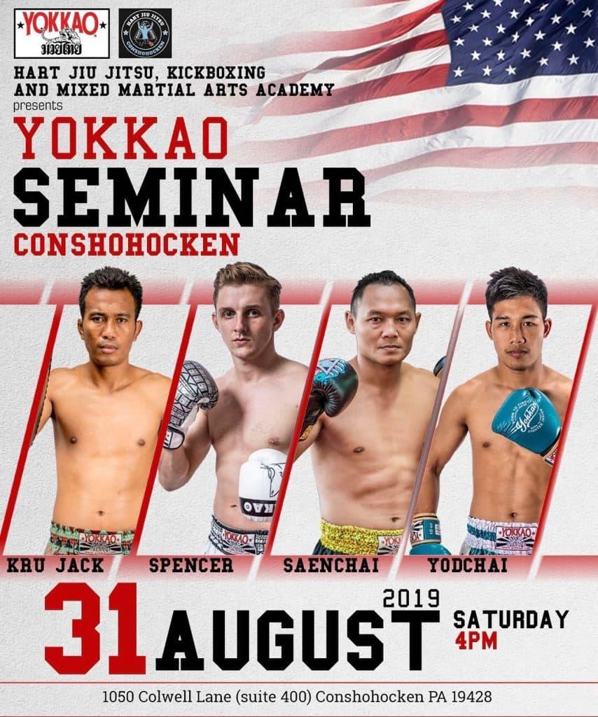 Yokkao Muay Thai Seminar – Muay Thai Conshohocken PA! Featuring Saenchai…